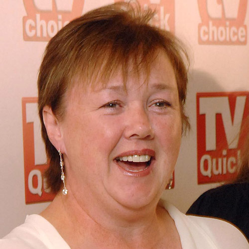 TV Stars answer: PAULINE QUIRK