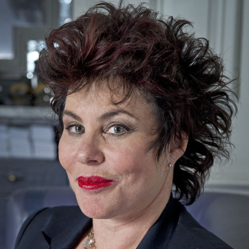TV Stars answer: RUBY WAX