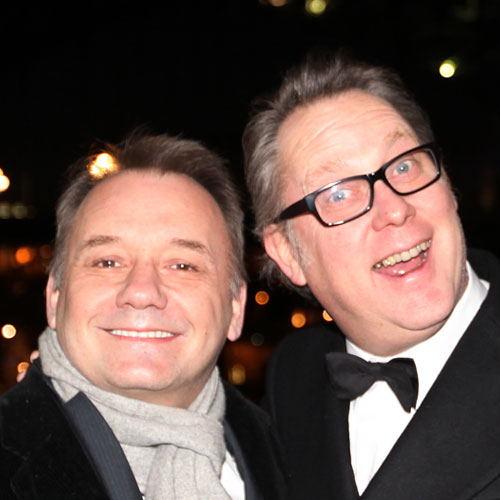 TV Stars answer: VIC & BOB