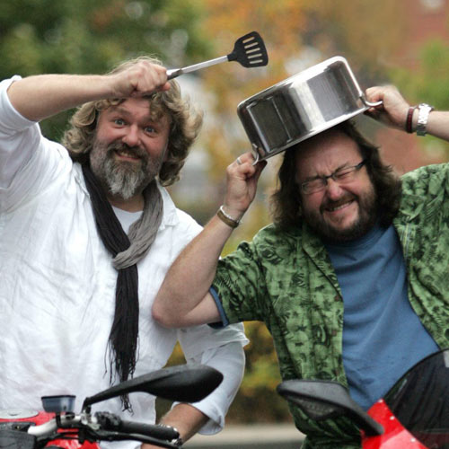 TV Stars answer: HAIRY BIKERS