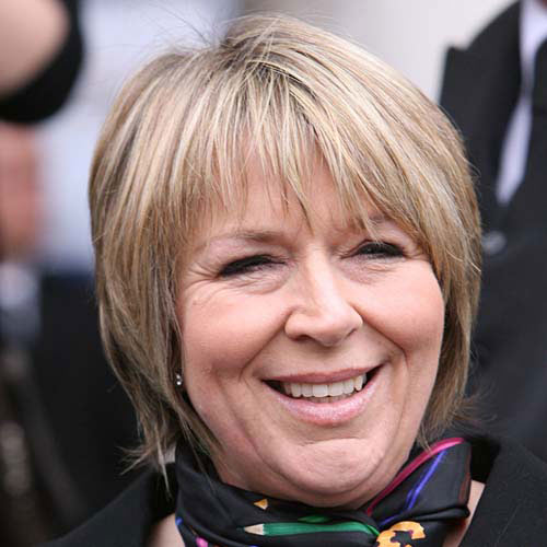 TV Stars answer: FERN BRITTON