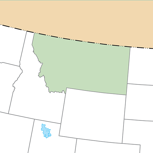 US States answer: MONTANA