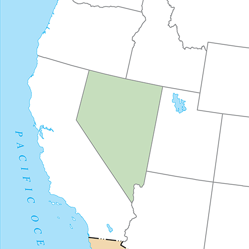 US States answer: NEVADA