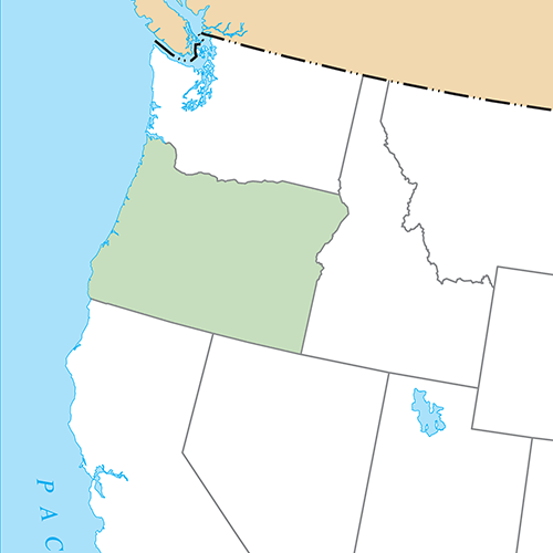 US States answer: OREGON