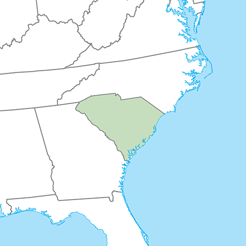 US States answer: SOUTH CAROLINA