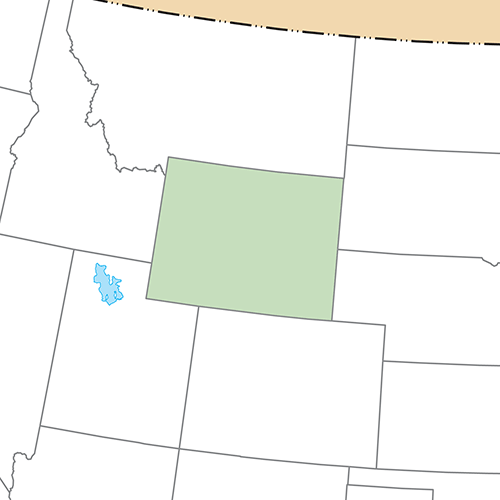 US States answer: WYOMING