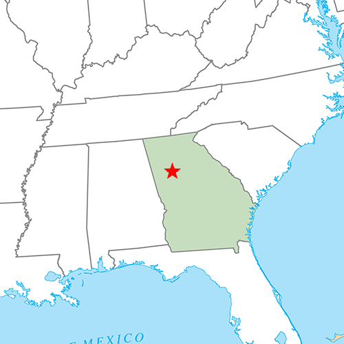 US States answer: ATLANTA