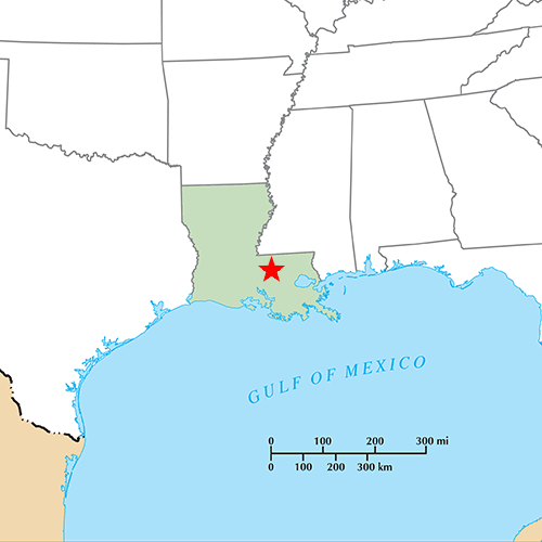 US States answer: BATON ROUGE