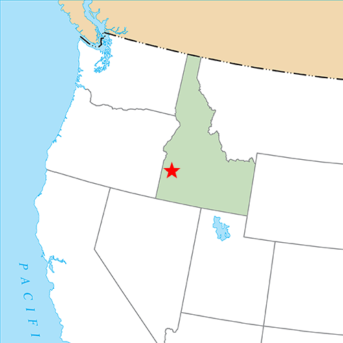 US States answer: BOISE