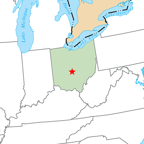 US States answer: COLUMBUS