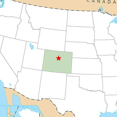 US States answer: DENVER