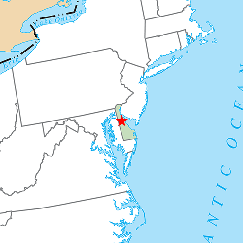 US States answer: DOVER