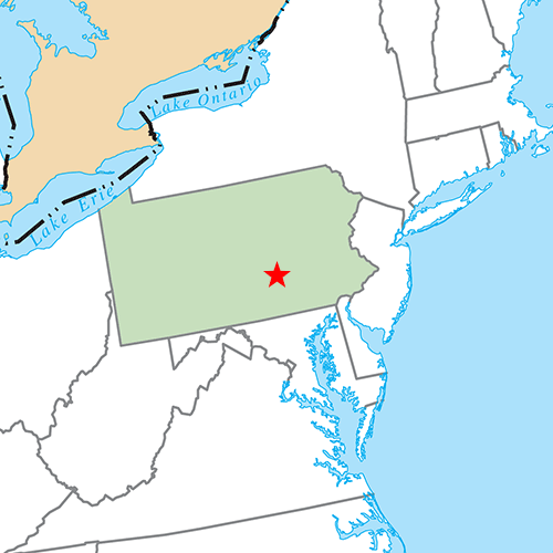 US States answer: HARRISBURG