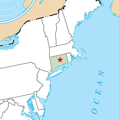 US States answer: HARTFORD