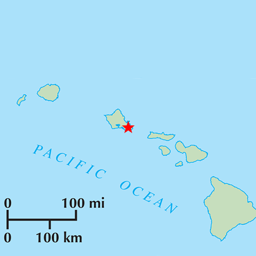 US States answer: HONOLULU