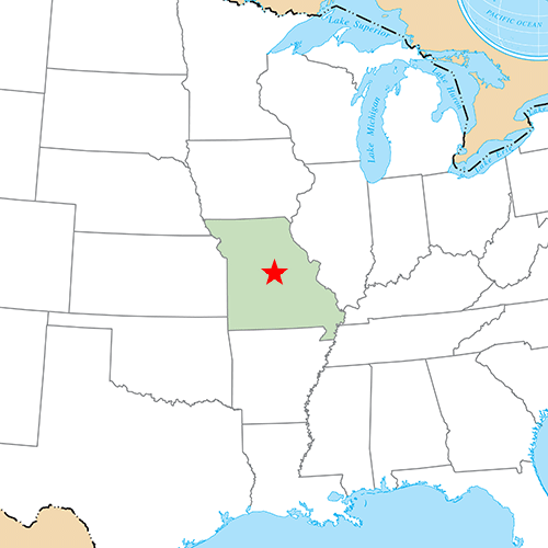 US States answer: JEFFERSON CITY