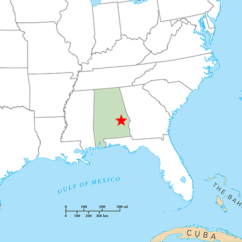 US States answer: MONTGOMERY