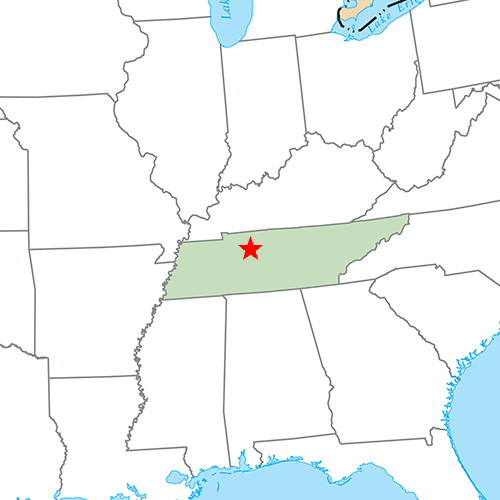 US States answer: NASHVILLE