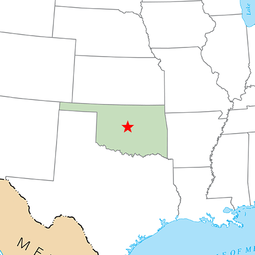 US States answer: OKLAHOMA CITY