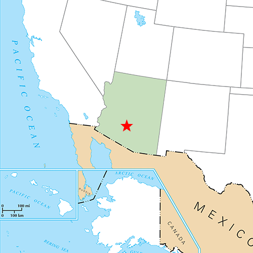US States answer: PHOENIX