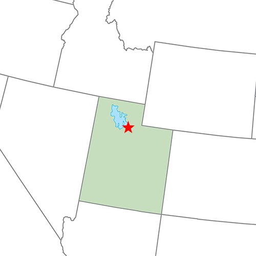 US States answer: SALT LAKE CITY
