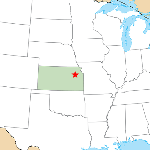 US States answer: TOPEKA