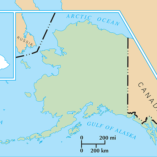 US States answer: ALASKA