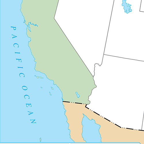 US States answer: CALIFORNIA