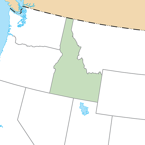 US States answer: IDAHO