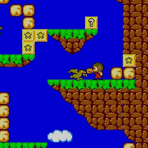 Video Games answer: ALEX KIDD