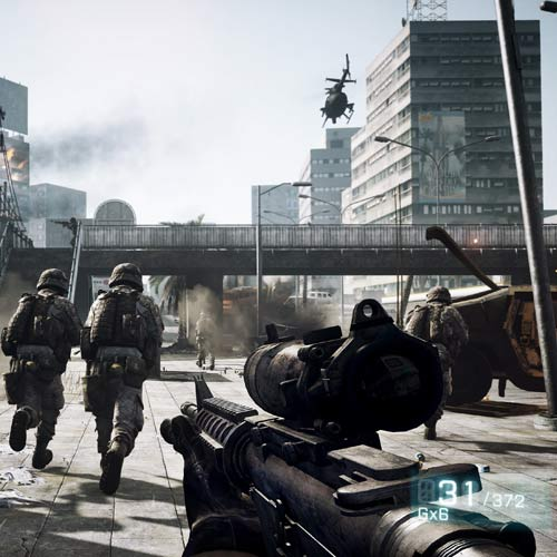 Video Games answer: BATTLEFIELD 3