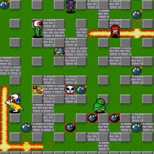 Video Games answer: BOMBERMAN