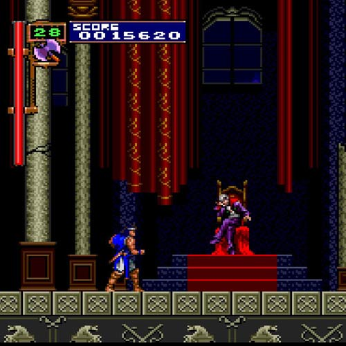 Video Games answer: CASTLEVANIA