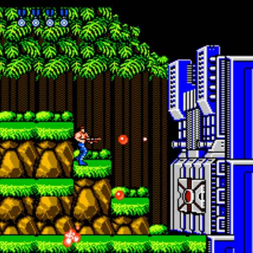 Video Games answer: CONTRA