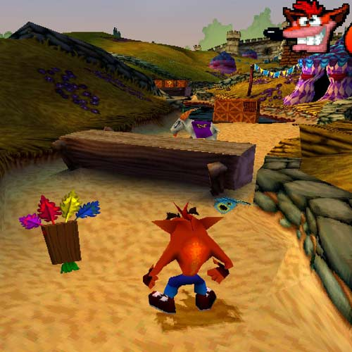 Video Games answer: CRASH BANDICOOT