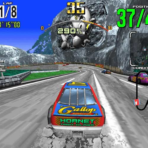 Video Games answer: DAYTONA USA