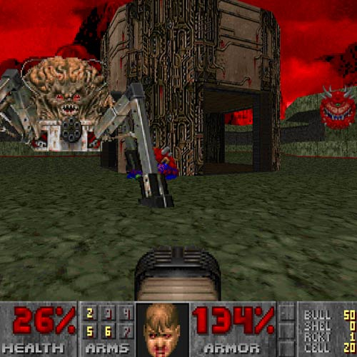 Video Games answer: DOOM