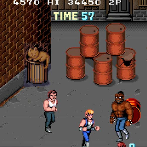Video Games answer: DOUBLE DRAGON