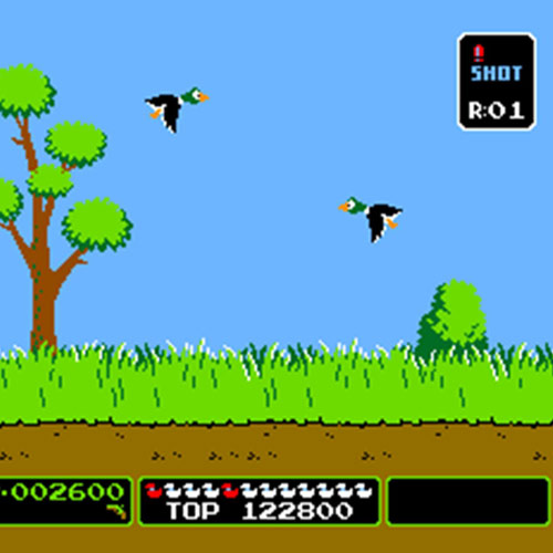 Video Games answer: DUCK HUNT