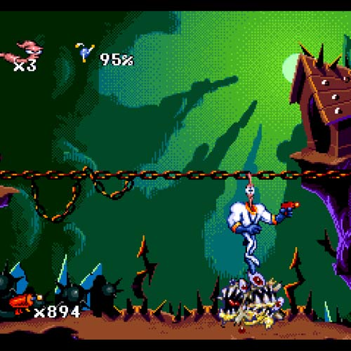 Video Games answer: EARTHWORM JIM