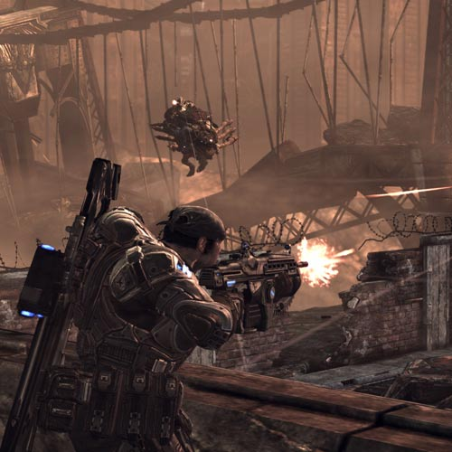 Video Games answer: GEARS OF WAR