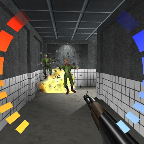 Video Games answer: GOLDENEYE