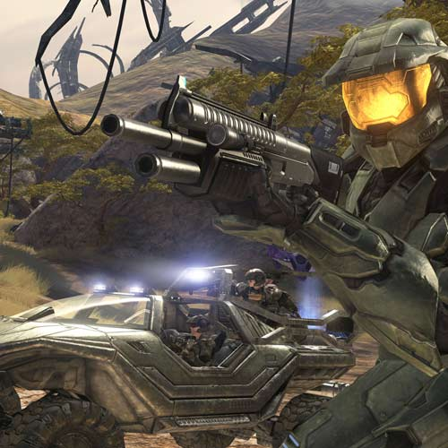Video Games answer: HALO