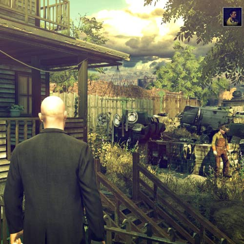 Video Games answer: HITMAN