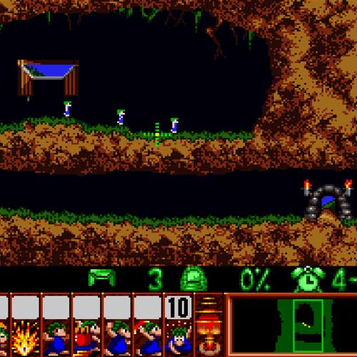 Video Games answer: LEMMINGS