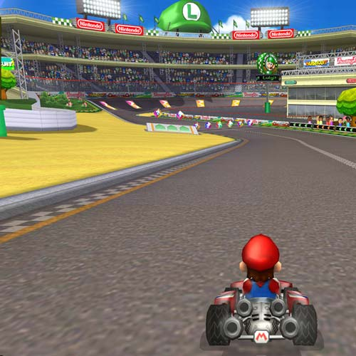 Video Games answer: MARIO KART WII
