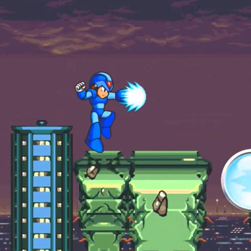 Video Games answer: MEGAMAN