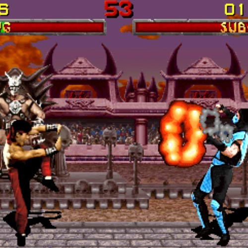 Video Games answer: MORTAL KOMBAT
