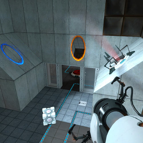 Video Games answer: PORTAL