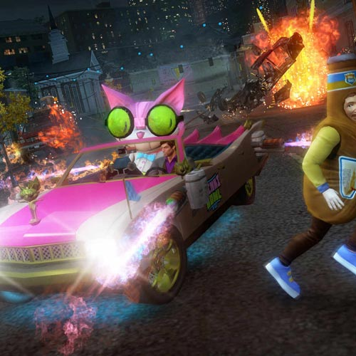 Video Games answer: SAINTS ROW 3